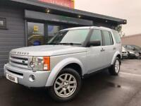 2009 Land Rover Discovery 3 2.7TD V6 auto XS *7 SEATER - Black Leather 4x4*