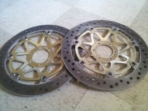 New Used Rotors 1998 CBR900 Fire Blade RR -OEM From Honda