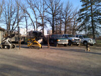 Fence post drilling, setting, fences, decks and ground screws