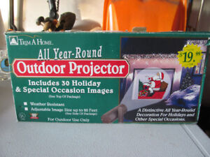Christmas outdoor projector and other occasions