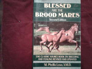 Horse books on Broodmares  and training colts