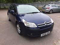 Citeron C4 1.4 Petrol 5 Dr 2006 Low Miles Long MOT