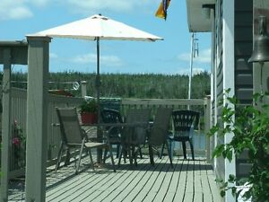 Seaside Cottage at Clam Harbour.  Open concept.