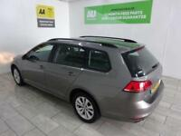 GREY VOLKSWAGEN GOLF 1.6 SE TDI BLUEMOTION TECHNOLOGY **FROM £154 PER MONTH**