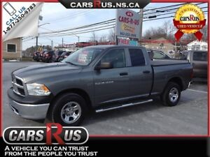 2012 Ram 1500 5.7L HEMI! 4X4 1 YEAR WARRANTY INCLUDED!