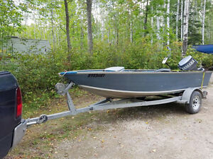 14.5 Aluminum 30HP Yamaha OR Trade