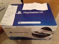 New, sealed, Sony PlayStation VR
