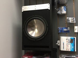Subwoofers and other car audio equipment