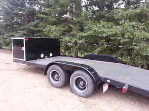 19' car hauler with 3' built in tool box