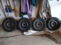 Michelin Ice Winter Tires for Honda CRZ