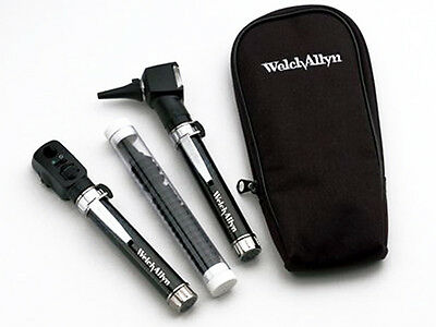 Welch Allyn Pocket Jr. Otoscopeopthalomscope Diagnostic Set - New Item 95001