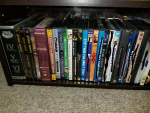 DVD & Blu-Ray Movies And TV Shows Collection