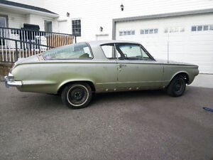 Price reduced to $6950! - 1965 Plymouth Valiant Barracuda
