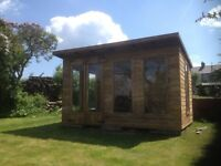14ft x 8ft summerhouse/ shed/ office/ garden building