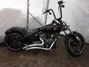 Harley Davidson rocker 2009