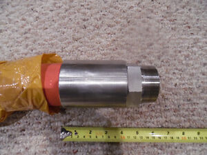 "2"" Steam hose 2"" NPT by 60"" long 250psi SS Ends 450F Brand New Kitchener / Waterloo Kitchener Area image 2"