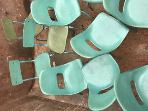 Lot of 21 children's chairs for desks daycare  mini kids seats