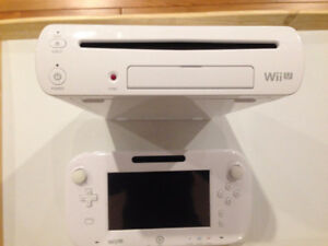 Nintendo Wii U Bundle - in excellent condition, hardly used