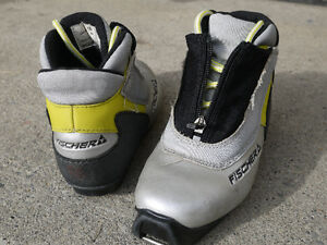 Kid's Youth SNS Fischer Cross Country Ski Boots Size EU 33