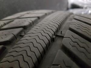 Winter snow tire 225 45 r17 - 80% thead left. Mercedes-Benz orig