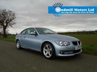 2010/10 BMW 3 SERIES 2.0 320D SE 2DR COUPE + ECONOMICAL AND HAS EXTRAS!
