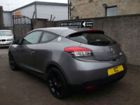 09 09 RENAULT MEGANE 1.5 DCI TURBO DIESEL COUPE SPORT 2DR £30 TAX BODYKIT