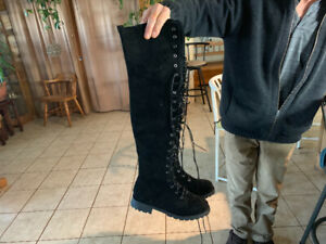 Women's over the knee boots