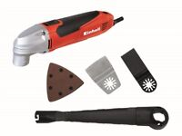 Einhell TC-MG 220 E Multi Cutting Tool & Carry Case 220 Watt 240 Volt. New Year Clearance Offer
