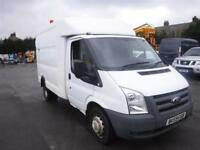 FORD TRANSIT 350 MWB EX BT BOX VAN White Manual Diesel, 2009