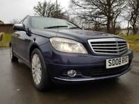 Mercedes-Benz C220 2.1TD AUTO CDI Elegance LEATHER BLUETOOTH WARRANTY FULL SH