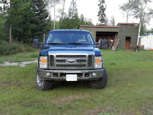 "2009 F350 Lariat and 2007 10'6"" Bigfoot camper for sale"