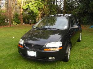 2007 Pontiac Wave SE Hatchback