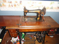 singer treddle sewing machine
