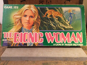 Collectible Bionic Woman Board Game