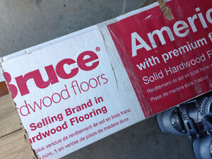 40ft Bruce hardwood flooring