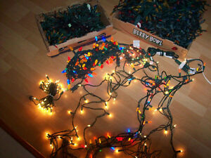 CHRISTMAS TREE LIGHTS  --  INDOOR / OUTDOOR