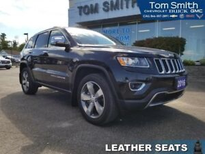 2016 Jeep Grand Cherokee Limited  - Leather Seats - $252.03 B/W