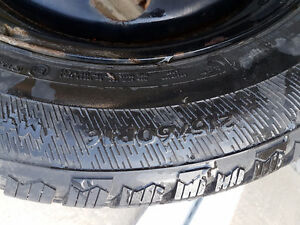 Avalanche X-treme Winter Tires with Rims 215/60R16