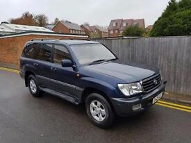 Toyota Land Cruiser Amazon 4.7 VX (Active) (ABS) 1999 ONLY 121,000 MILES