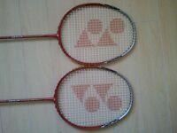 2 Yonex Armortec 250 Badminton Rackets