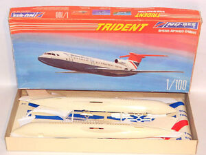 Nu-Bee 1/100 Scale Trident British Airways Plastic Model Kit