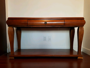 Quality Hardwood console table