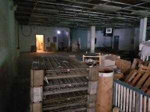 Warehouse Space Available for lease near Metrotown Mall