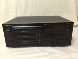 Pioneer 18 disc CD player model PD-TM2