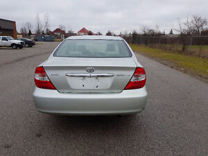 2003 Toyota Camry NO ACCIDENTS / SAFETY / E-TEST / WARRANTY London Ontario image 3