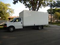 $69  Deliveries/YOU HELP ME/Edmonton Moving Cube Van + 1 Mover