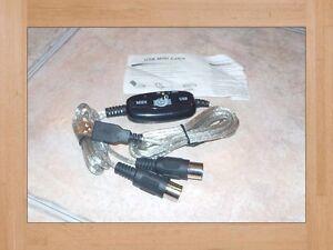 Adaptateur USB-Midi