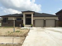 Brand new custom ranch with finished basement