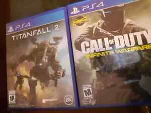 2 Brand New Sealed PS4 Games