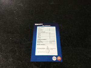 Simcity 2013 Heroes and Villians Manual & Control Manual